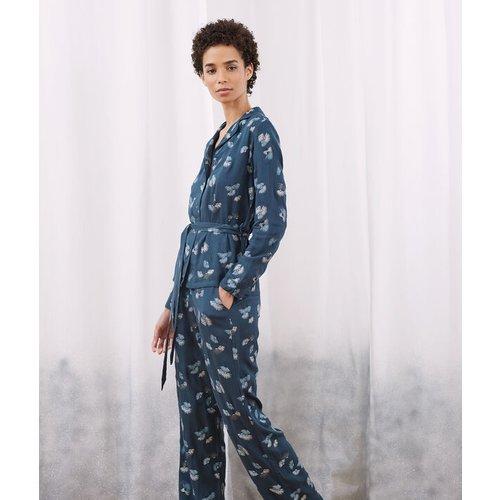 Chemise de pyjama ceinturée - JUNE - L -  - Etam - Modalova