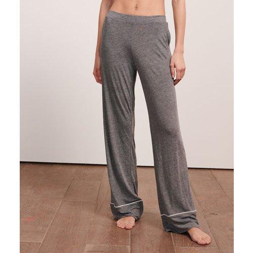 Pantalon large uni - WARM DAY - L -  - Etam - Modalova