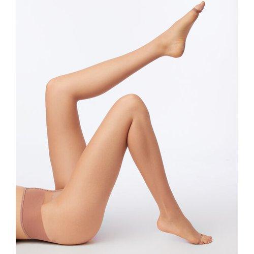 Collants voile effet jambes nues, bout ouvert - EMBELLISSEUR - S -  - Etam - Modalova