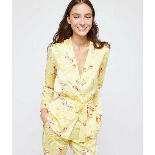 Chemise de pyjama satinée ceinturée - PAPAYE - M -  - Etam - Modalova