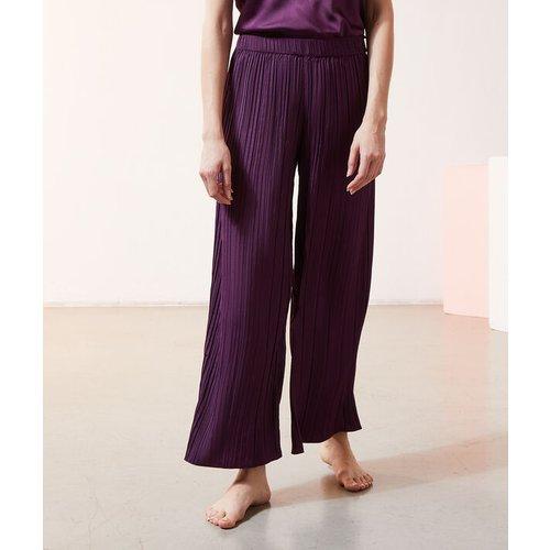 Pantalon plissé satiné - SRILA - M -  - Etam - Modalova