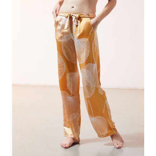 Pantalon satiné imprimé - SAB - M -  - Etam - Modalova