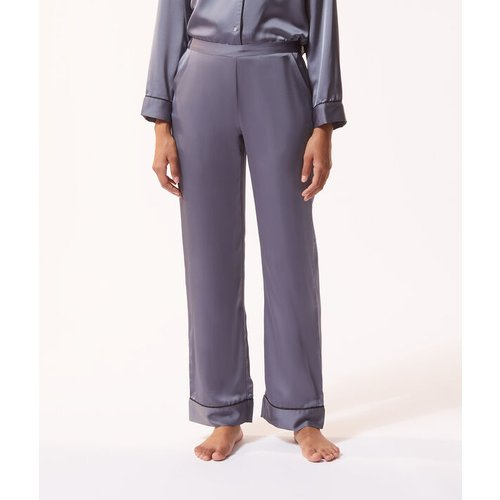 Pantalon de pyjama satiné - CATWALKY - L -  - Etam - Modalova