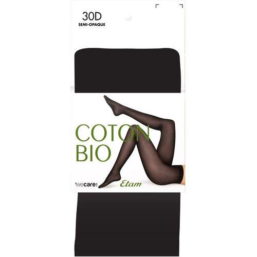 Collant en coton bio - 30d - COTON BIO - M -  - Etam - Modalova