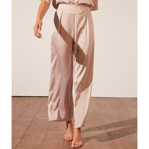 Pantalon de pyjama satiné imprimé - Erina - M - - Etam - Modalova