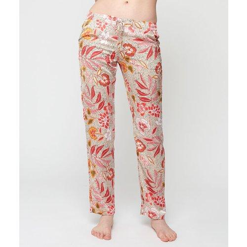 Pantalon satiné imprimé - BOURGEON - XL -  - Etam - Modalova