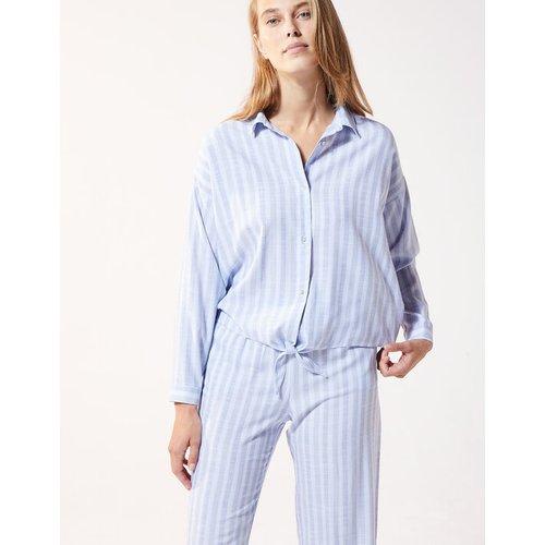 Chemise manches longues rayée - MANAE - XL -  - Etam - Modalova