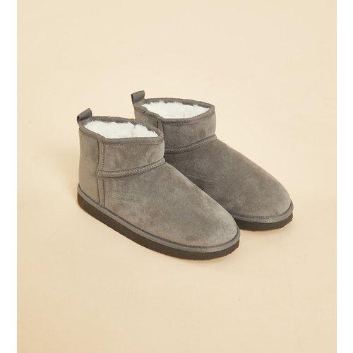 Chaussons bottines fourrés - Chesnut - 36/37 - - Etam - Modalova