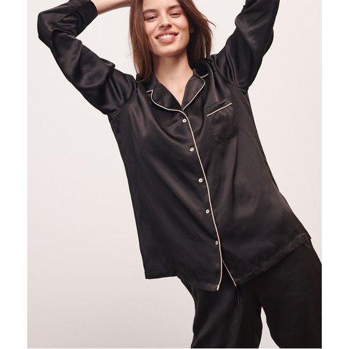 Chemise de pyjama en soie - Milky - S - - Etam - Modalova