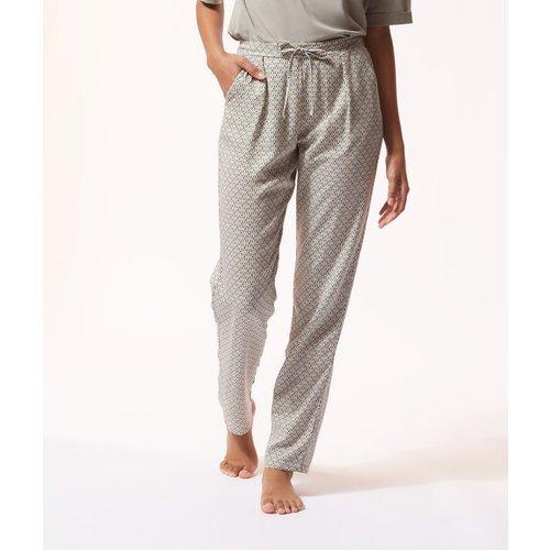 Pantalon de pyjama imprimé fleuri - ILYA - M -  - Etam - Modalova