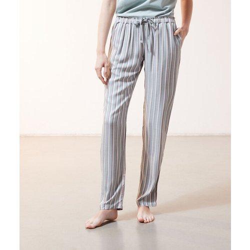 Pantalon à rayures à lacets - FLEUR - L -  - Etam - Modalova
