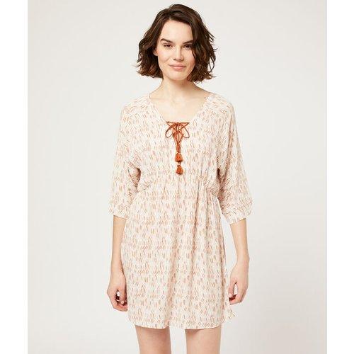 Chemise de nuit à pompons - JEANNE - L -  - Etam - Modalova
