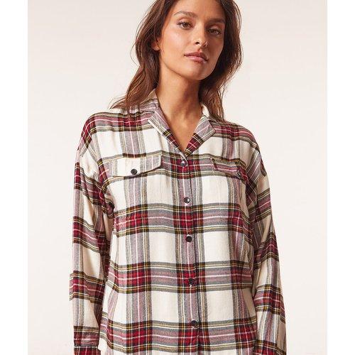 Chemise à carreaux - Tiam - XS - - Etam - Modalova