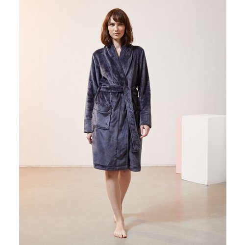 Déshabillé polaire long homewear - SUE - L -  - Etam - Modalova