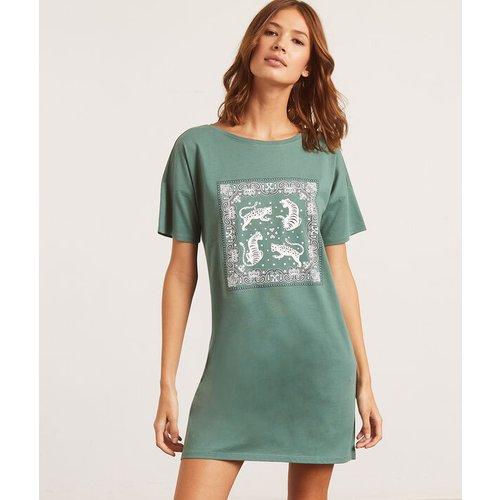Chemise de nuit imprimée tigres - BANNA - XL -  - Etam - Modalova