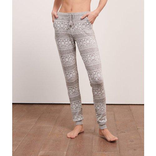 Pantalon imprimé jacquard - SAUL - M -  - Etam - Modalova