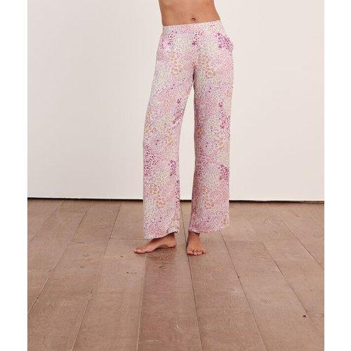 Pantalon satiné imprimé - NOLIA - M -  - Etam - Modalova