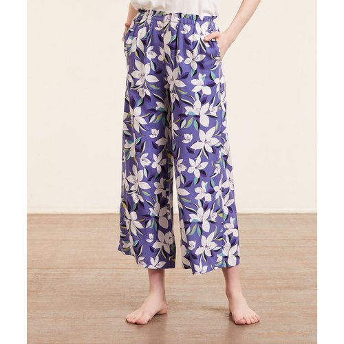 Pantalon de pyjama 7/8è imprimé - Elie - M - - Etam - Modalova