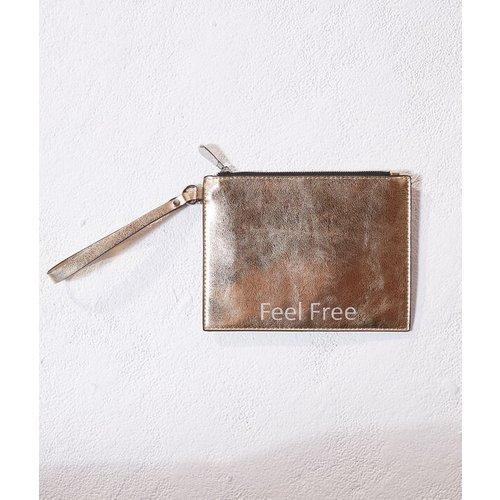Sac pochette 'feel free' - GLITTER - TU -  - Etam - Modalova
