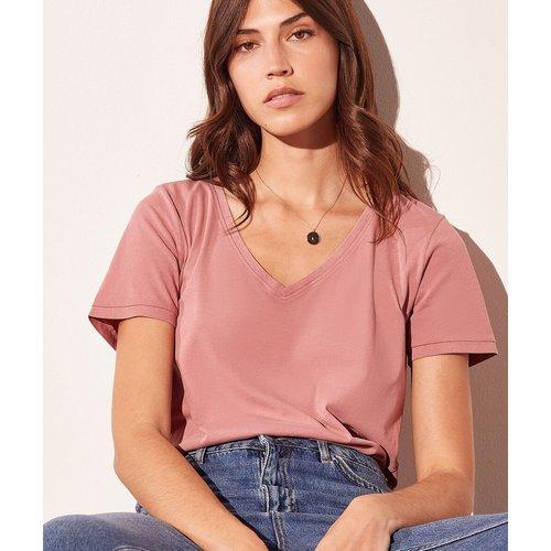 T-shirt col v - Maggie - S - - Etam - Modalova