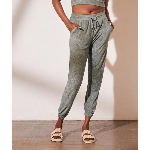 Pantalon jogger en velours éponge - Eloise - L - - Etam - Modalova