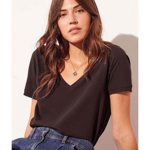 T-shirt col v - Maggie - M - - Etam - Modalova