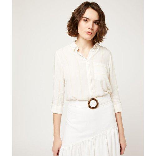 Chemise à rayures - LIXI - 34 -  - Etam - Modalova