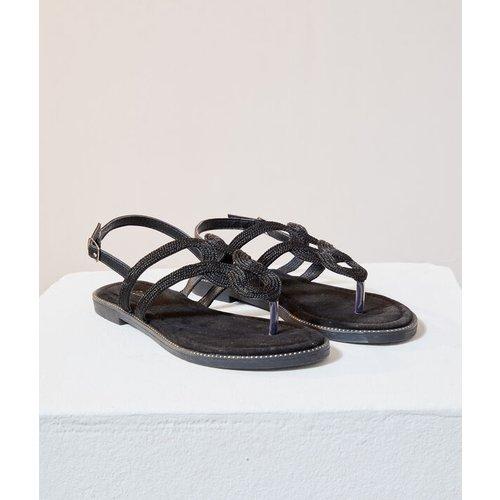 Sandales plates tressées - BALI - 37 -  - Etam - Modalova
