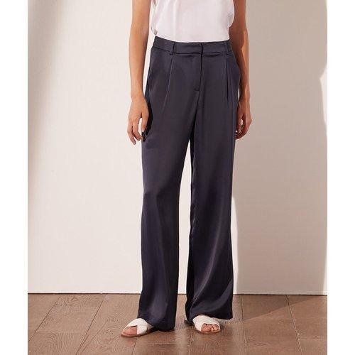 Pantalon large satiné - Sandra - 34 - - Etam - Modalova