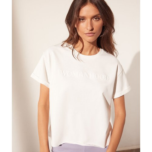 T-shirt col rond 'womanhood' - Womanhood - XS - - Etam - Modalova