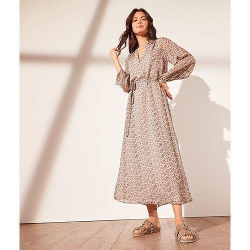 Robe longue imprimée - Blossom - 34 - - Etam - Modalova