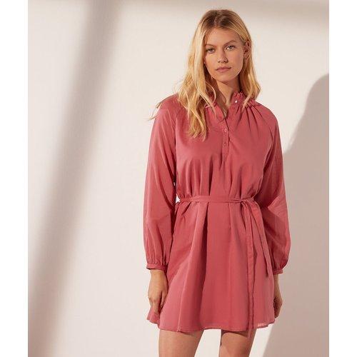 Robe courte avec ceinture en coton - Nehala - S - - Etam - Modalova