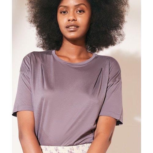 T-shirt col rond - Louna - XS - - Etam - Modalova