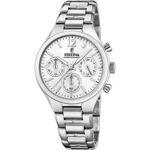 Montre Boyfriend Collection Argent - Festina - Modalova