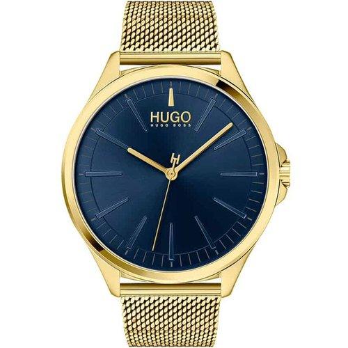Montre Hugo Smash Bleu - HUGO - Modalova