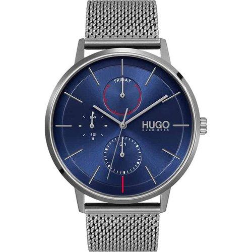Montre Hugo Exist Bleu - HUGO - Modalova