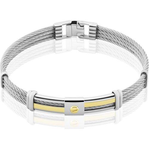 Bracelet Davilia Or Acier Bicolore - Jourdan - Modalova