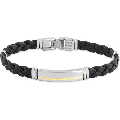 Bracelet Orietta Or Acier Bicolore - Jourdan - Modalova