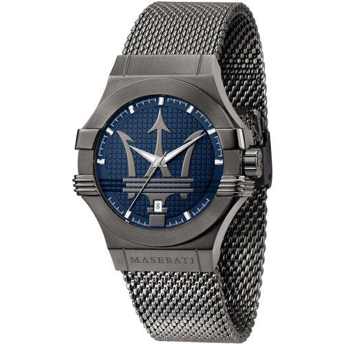 Montre Maserati Potenza Bleu - Maserati - Modalova