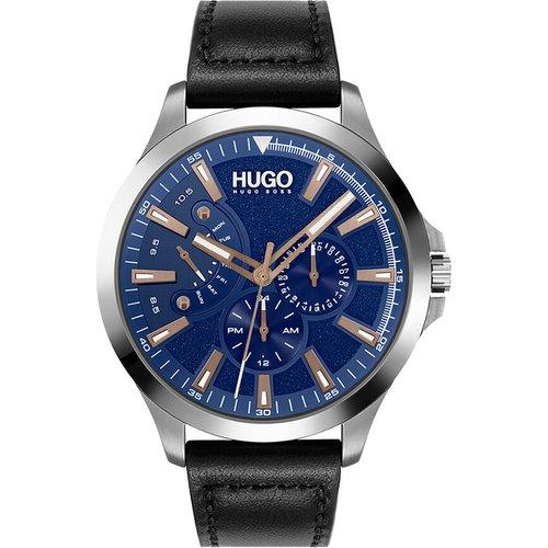 Montre Hugo Leap Bleu - HUGO - Modalova