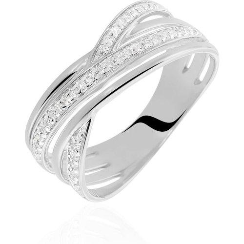 Bague Bague Or Blanc Diamant - Histoire d'Or - Modalova