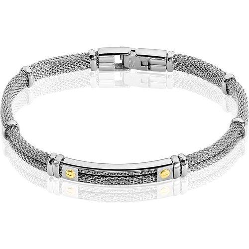 Bracelet Neylahae Or Acier Blanc - Jourdan - Modalova