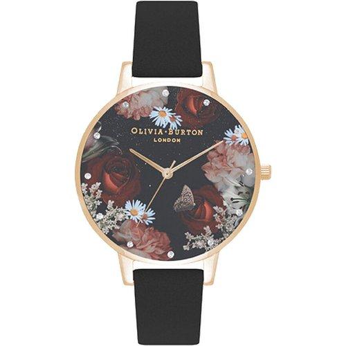 Montre Winter Blooms Noir - Olivia Burton - Modalova