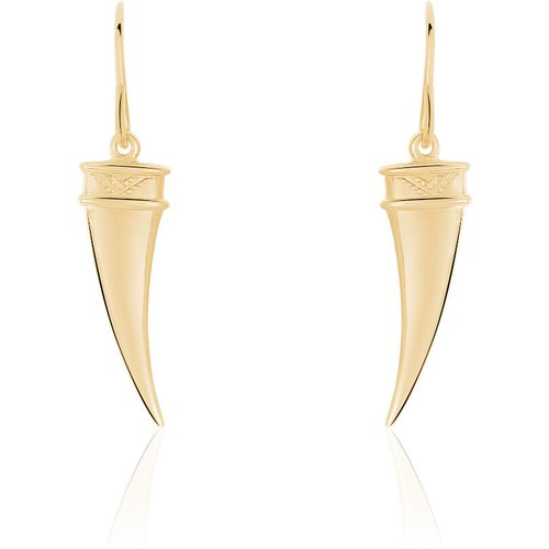 Boucles D'oreilles Pendantes Plaque Or - Histoire d'Or - Modalova
