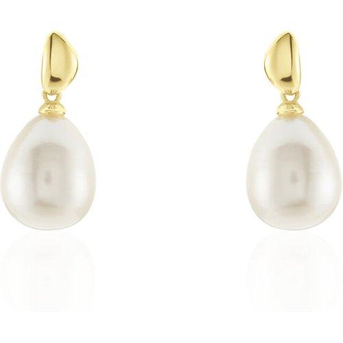 Boucles D'oreilles Pendantes Judinta Or Perle De Culture - Histoire d'Or - Modalova