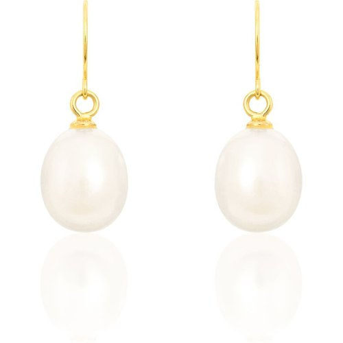 Boucles D'oreilles Pendantes Baroque Or Perle De Culture - Histoire d'Or - Modalova