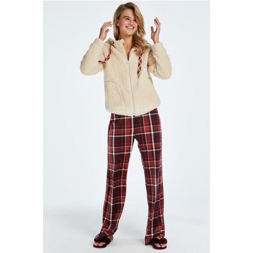 Tall Pantalon de pyjama Velours - Hunkemöller - Modalova