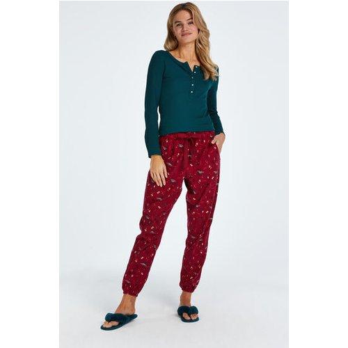 Pantalon de pyjama Twill - Hunkemöller - Modalova
