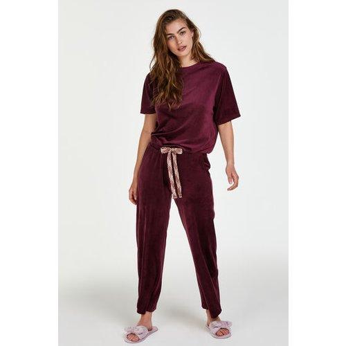Pantalon de pyjama Velours - Hunkemöller - Modalova