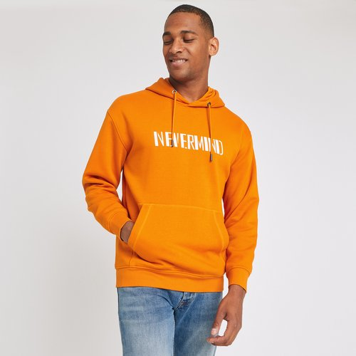 Sweat à capuche Orange Homme - Jules - Modalova